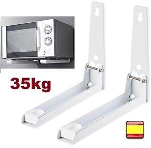 Soporte de pared para microondas cocinas equipo de audio - Soportes para microondas ...