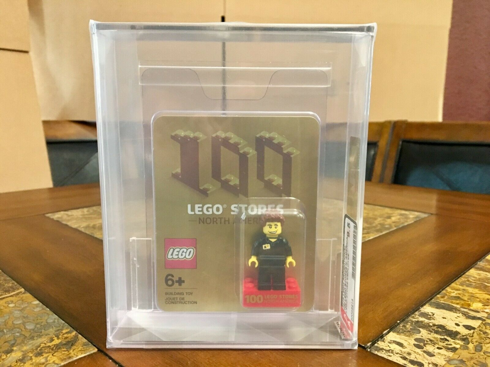 LEGO EXCLUSIVE PROMOTIONAL 100 NORTH AMERICAN STORES NEW AFA 9.5 VERY RARE