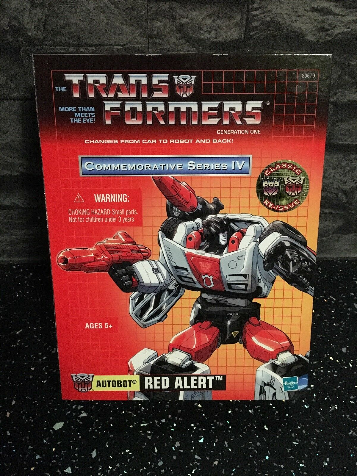 Transformers Red Alert Commemorative 4 Brand New