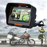 4.3 Motorbike Gps Navigation Sat Nav 8gb Motorcycle Bike Navigator Waterproof
