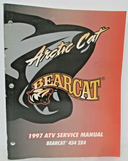 Arctic Cat 1997 Atv Service Manual Bearcat 454 2x4 Repair