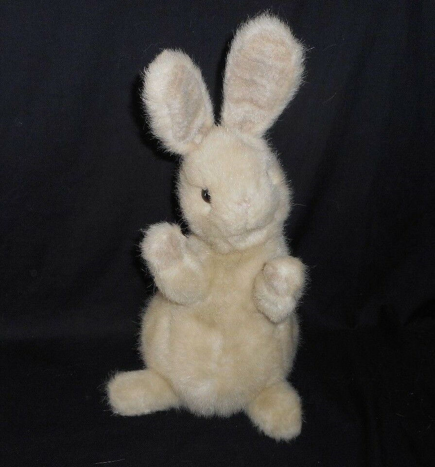 14  VINTAGE 1987 GUND BROWN   TAN EASTER BUNNY RABBIT STUFFED ANIMAL PLUSH TOY