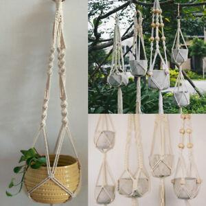 Image Is Loading Vintage Hanging Plant Pot Hanger Holder House Planter