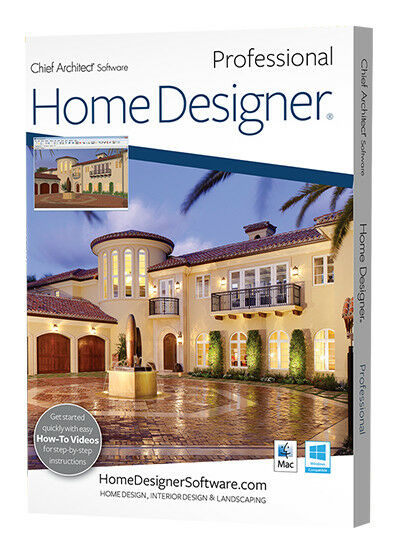 home designer pro chief architect software 2018 download ebay