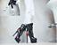 GOGO-Club-Party-Damenschuhe-XL-Plateau-SAXY-Gothic-STIEFELETTEN-High-Heels miniatuur 1