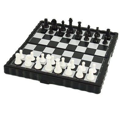 NEW Mini Magnetic Folding Chess Board Game Set/High ...