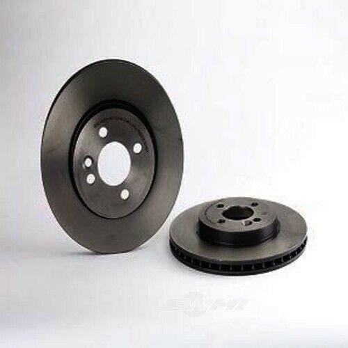 2008 2009 Mini Cooper See Desc. Rotors Ceramic Pads F OE Replacement