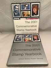 The 2001 Commemorative Stamp Yearbook by U. S. Postal Service Staff (2001, Hardcover)