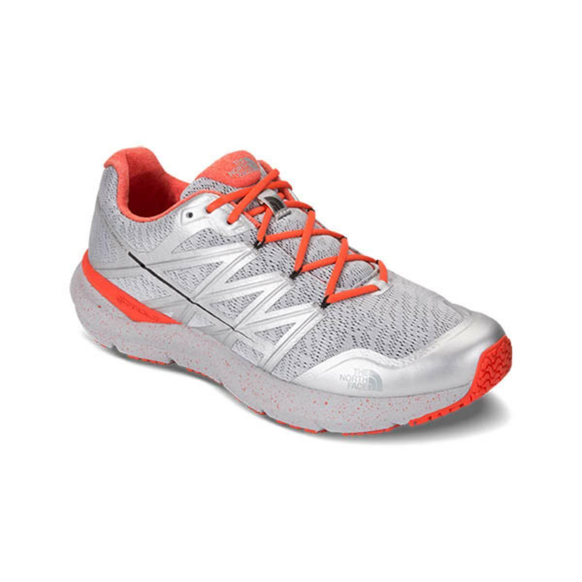 The North Face Ultra Cardiac Herren Schuhe Größe 9.5 Brandneu Silber Orange