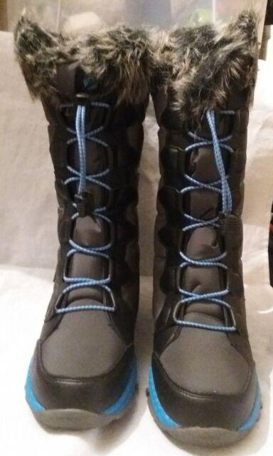 73344275a6d6 New Zaktiactive Tread Lightly Kids Snow Boots - Charcoal Size 3
