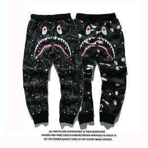A Bathing Ape Pants Bape Sweatpants Skinny Outwear Casual Jogger ... 03fc9e643
