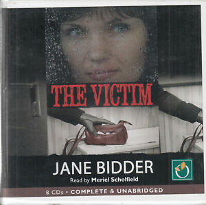 Jane-Bidder-The-Victim-8CD-Audio-Book-Unabridged-Crime-Thriller-FASTPOST