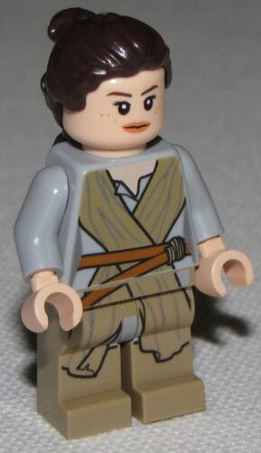 Lego New Star Wars Rey Female The Force Awakens Minifigure Minifig