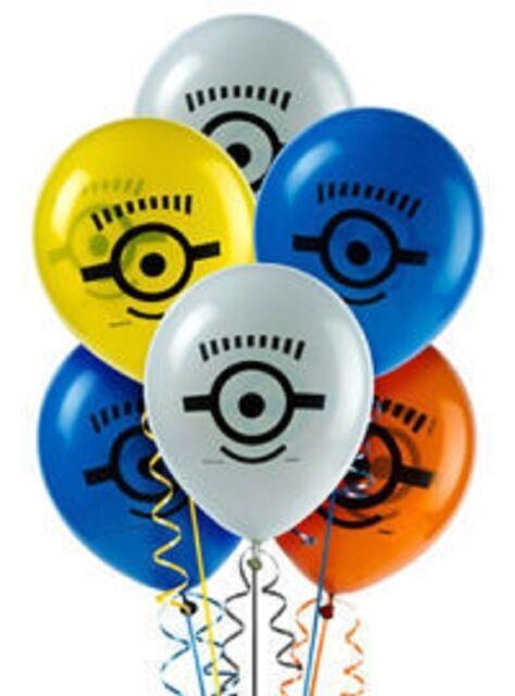 Despicable Me 2 - Birthday Party Balloons 8pc