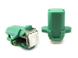 Lampara-Led-T5-B8-3D-B83D-Color-Verde-Luces-Salpicadero-e-Instrumentacion-12V