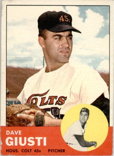 1963 Topps 189 Dave Giusti POOR #D329899
