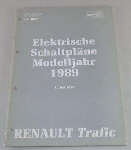 schémas électriques TRAFIC 1986 NT8013