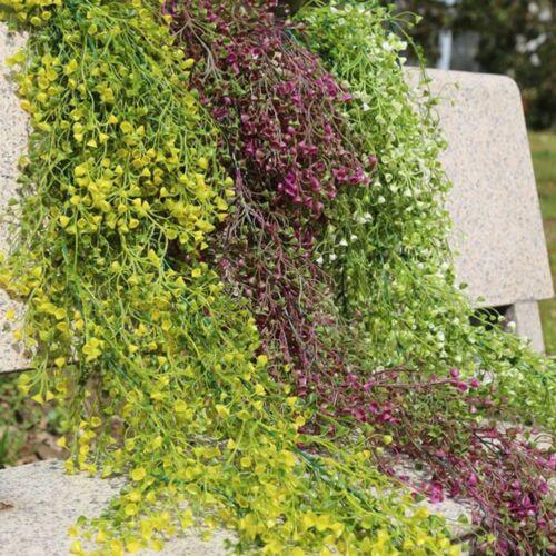Home Decor Wedding Artificial Vine Hanging Garland Plant Fake Silk Flower Lot