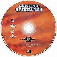 Fistful Of Dollars A (DVD, 2004) // New // No Cover // Disc & case only