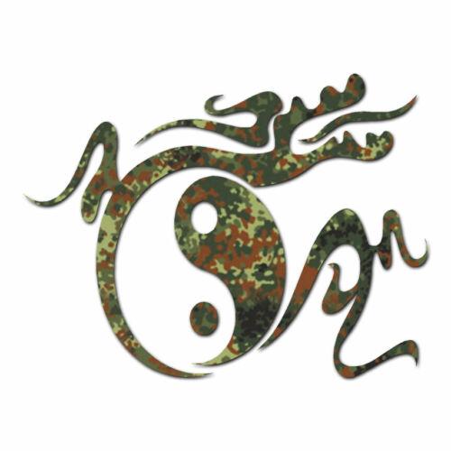Decal Sticker Dragon Yin Yang Chinese ebn1140 Multiple Patterns /& Sizes