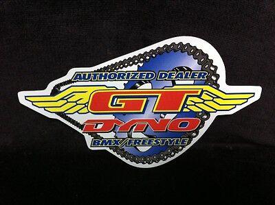 GT Dyno BMX//Freestlye Sticker NOS
