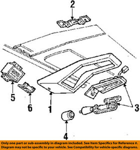 image is loading ford-oem-93-03-ranger-interior-lens-d9az13783c