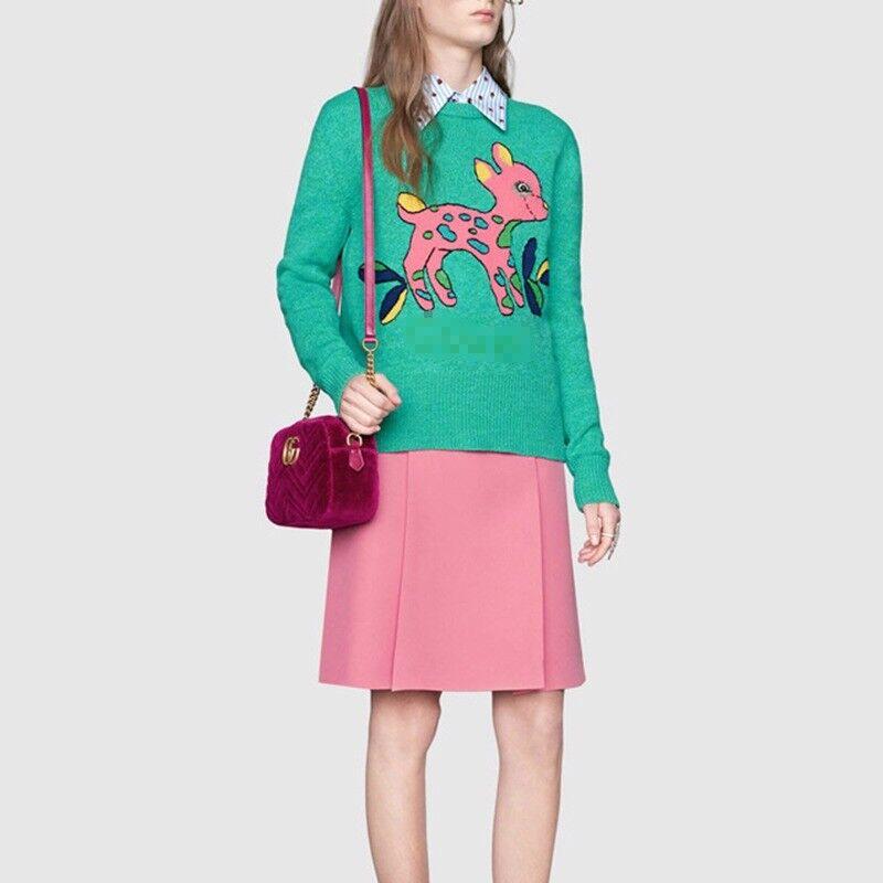 LG9 Bottines Femme chandail Pull voituredigan Sexy Inspiration Designer courirWAY vert
