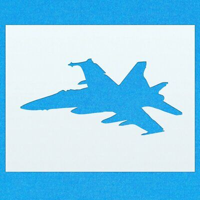 Plane Fighter Jet Aircraft Mylar Airbrush Painting Wall Art Crafts Stencil Two-L