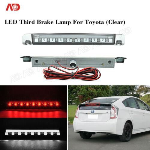 For Toyota Pruis V C Hybrid 9LED Third Brake Lamp RUNNING LAMP 2-IN-1 Clear Lens