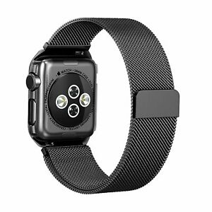 For Apple Watch Series 4 3 2 1 Milanese Loop Band Sport Band 42mm 38mm Ebay