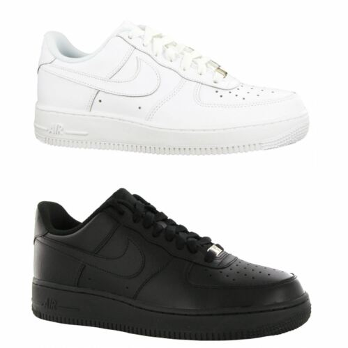 Nike Air Force 1 Low Leather Youth Trainers