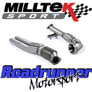 Details about Milltek Audi RS3 8v Exhaust Primary Hi-Flow Sports Cat &  Turbo Elbow SSXAU587