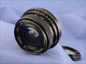 M42 Mount Hanimex Auto MC 28mm f2.8 Wide Angle Lens - VGC - 770
