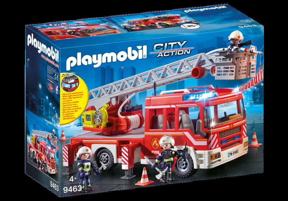 PLAYMOBIL 9463-Fire unità  SCALA-Nuovo     l'ultimo