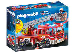 Playmobil 9463 - Fire Ladder Unit - NEW