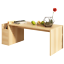 Living-Room-Wood-Cocktail-Coffee-Table-Organizer-With-Side-Storage-Drawer thumbnail 5