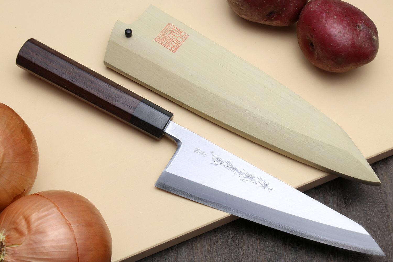 Yoshihiro Hongasumi bleu Steel 2 Garasuki Japanese Poultry Boning Knife 7  180mm