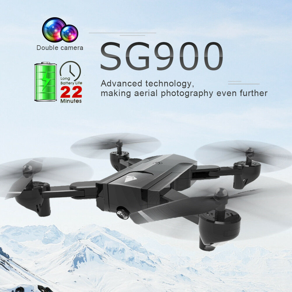 Sg900 RC Drone with 720p HD Camera SELFIE Foldable Mini Drone RC Helicopter