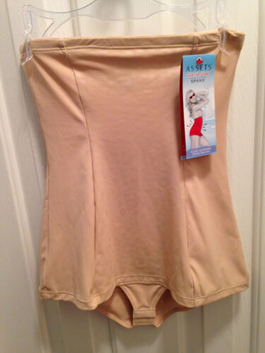Details about  /Spanx Beige Cheetah Body Tunic Size XL Sleek Slimmers Assets Red Hot Spanx