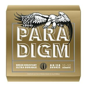 ERNIE-BALL-2090-PARADIGM-Muta-per-Acustica-80-20-Bronze-Extra-Light-010-050
