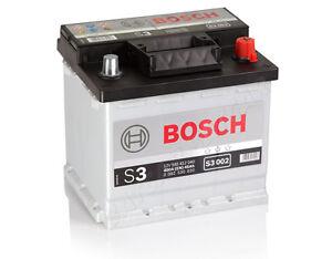 autobatterie bosch 12v 45ah 400 a en s3 002 45 ah top. Black Bedroom Furniture Sets. Home Design Ideas