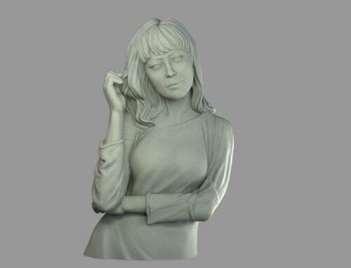 Bust Modern Woman Female Display Figure Exquis Ouroboros Miniatures Ex02 Yon
