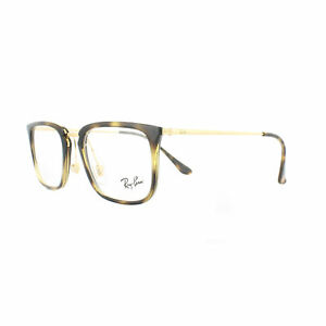 8d73d12f76a Ray-Ban Glasses Frames 7141 5754 Havana Gold 50mm Mens 8053672822724 ...