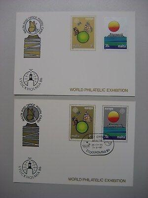 Ausstellungskarte Nr Super-preis 7 Stockholmia 86 Waren Jeder Beschreibung Sind VerfüGbar Malta + Mit Sst Postfr