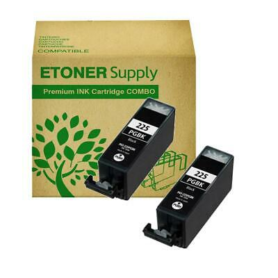 2 pack PGI225BK ink Cartridge fits Canon iP4920 MG5320 iX6520 MG8120 Printer