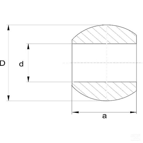 LA964284GP A Unterlenkerkugel Kat 3//2 für Fanghakensystem Unterlenker