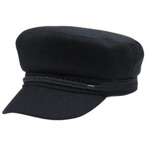 USA Men Women Winter Greek Fisherman Sailor Cap Fiddler Hat Peaked ... 571240dda6c9