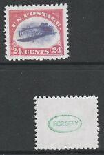 USA (740) 1918 24c INVERTED JENNY -  a Maryland FORGERY unused