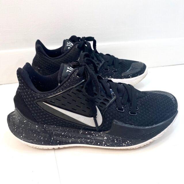 Nike Mens Kyrie Irving Basketball Shoes Black AV6337-003 2019 Mesh Low Top  8 M