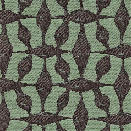 CF Stinson Spindles Fig Eggplant /& Seafoam Green Contemporary Upholstery Fabric